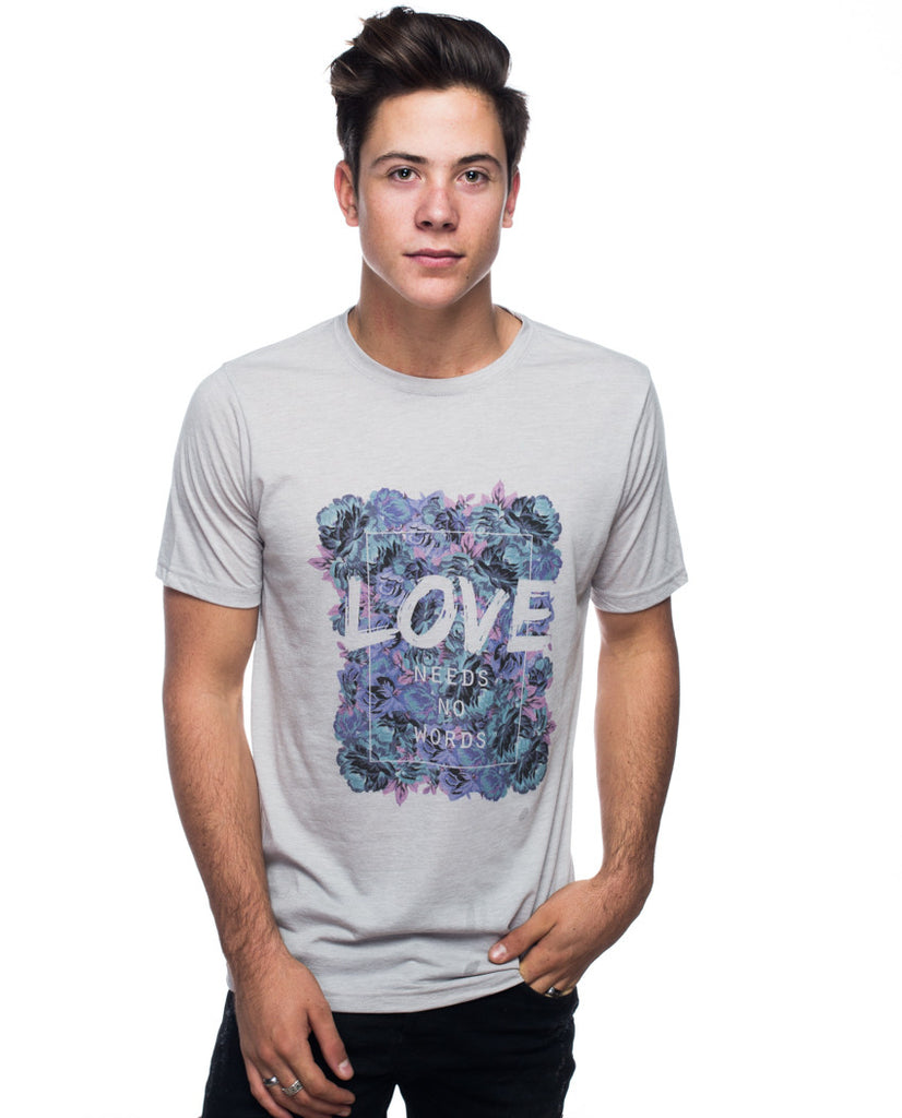 Love Needs No Words Tee