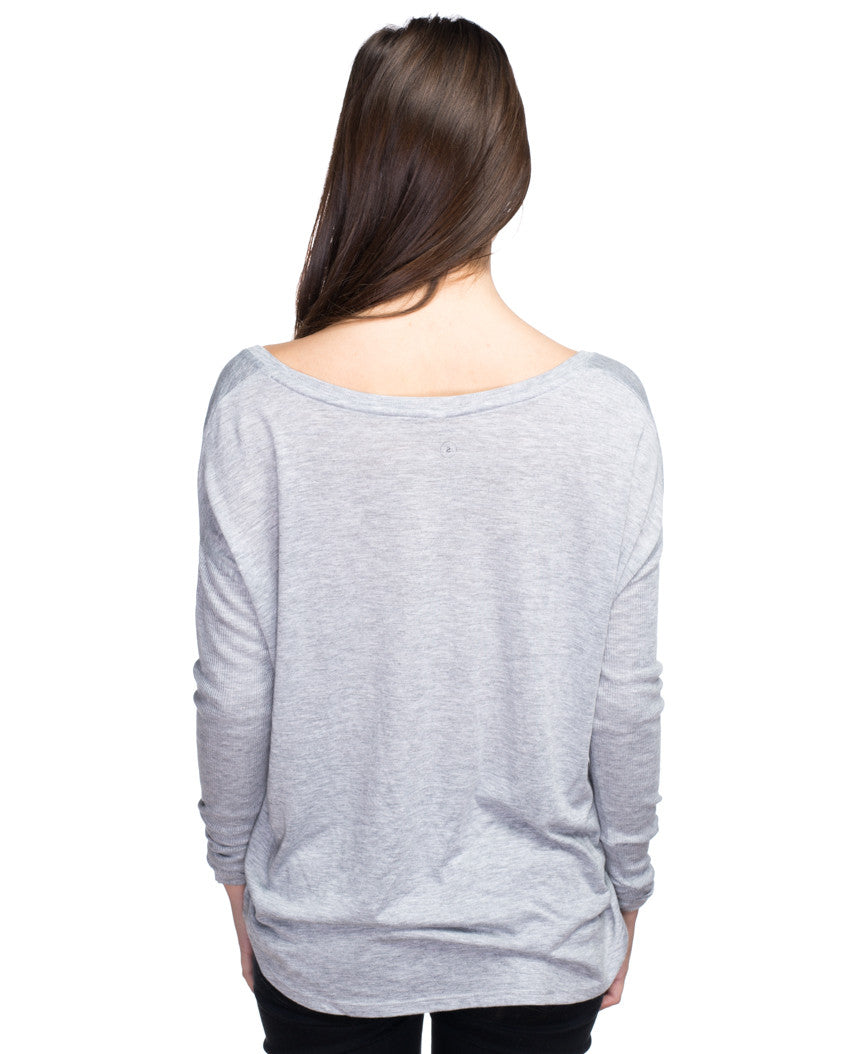 Love Courageously Flowy Long Sleeve Tee
