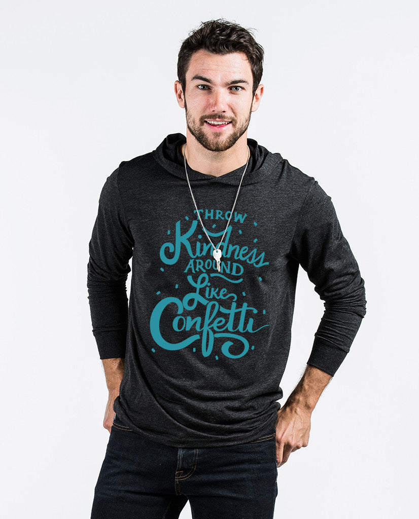 Throw Kindness Unisex Long Sleeve Hoodie