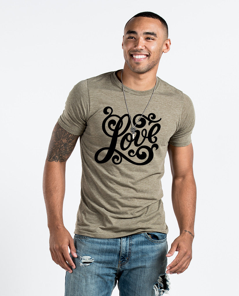 Love Premium Fitted Tee
