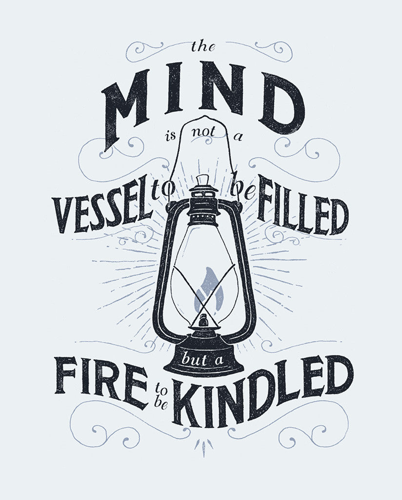 Mind Is Not A Vessel Mens Premium Tee