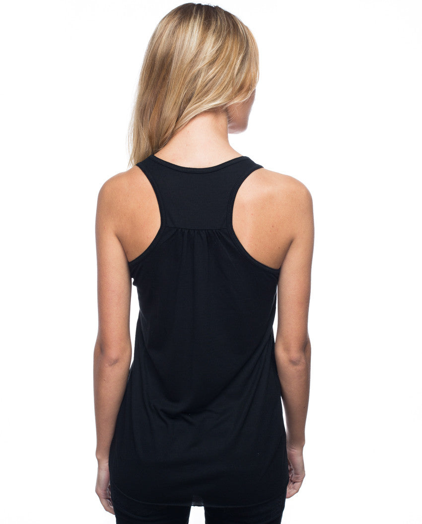 Give More Flowy Racerback Tank