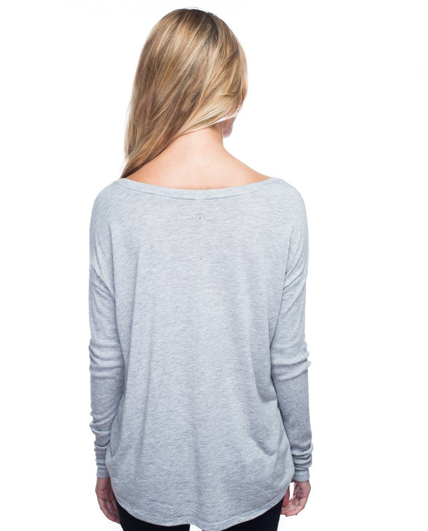 Give More Flowy Long Sleeve Tee