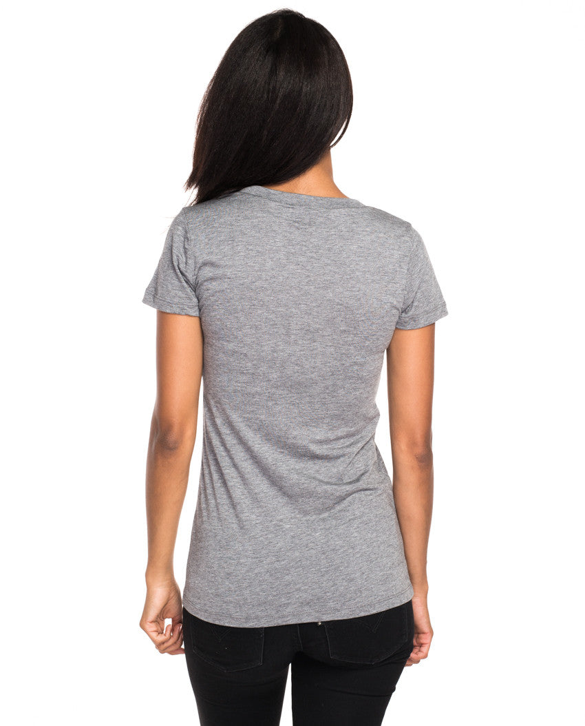 Environment - The Mountains Are Calling - Womens Premium Fitted Tri-Blend Short Sleeve Tee