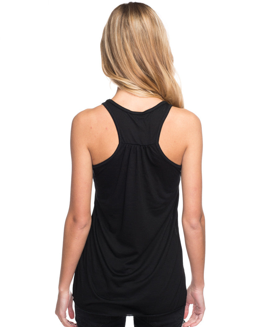 Peaches Giving Tree Flowy Racerback Tank