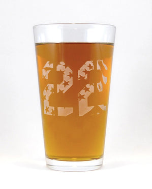 Hand-Etched, Limited Edition 22 Glassware