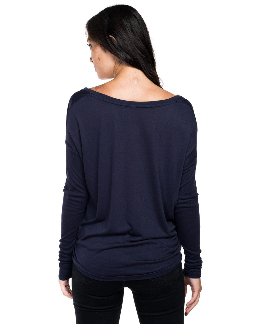 Free To Roam Flowy Long Sleeve Tee