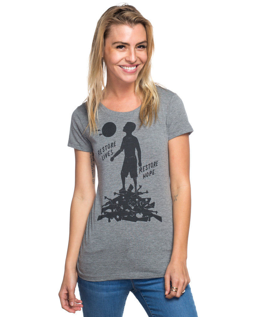 Restore Lives Restore Hope Triblend Short Sleeve Tee