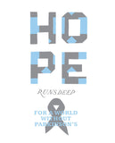 Hope Runs Deep Mens Premium Fitted Tee
