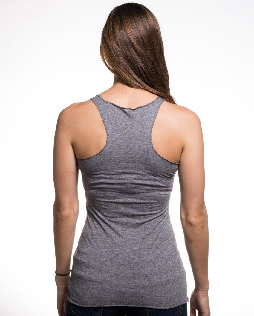 See The Invisible Triblend Racerback Tank
