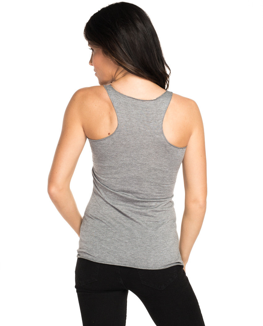 Shine On Triblend Racerback Tank