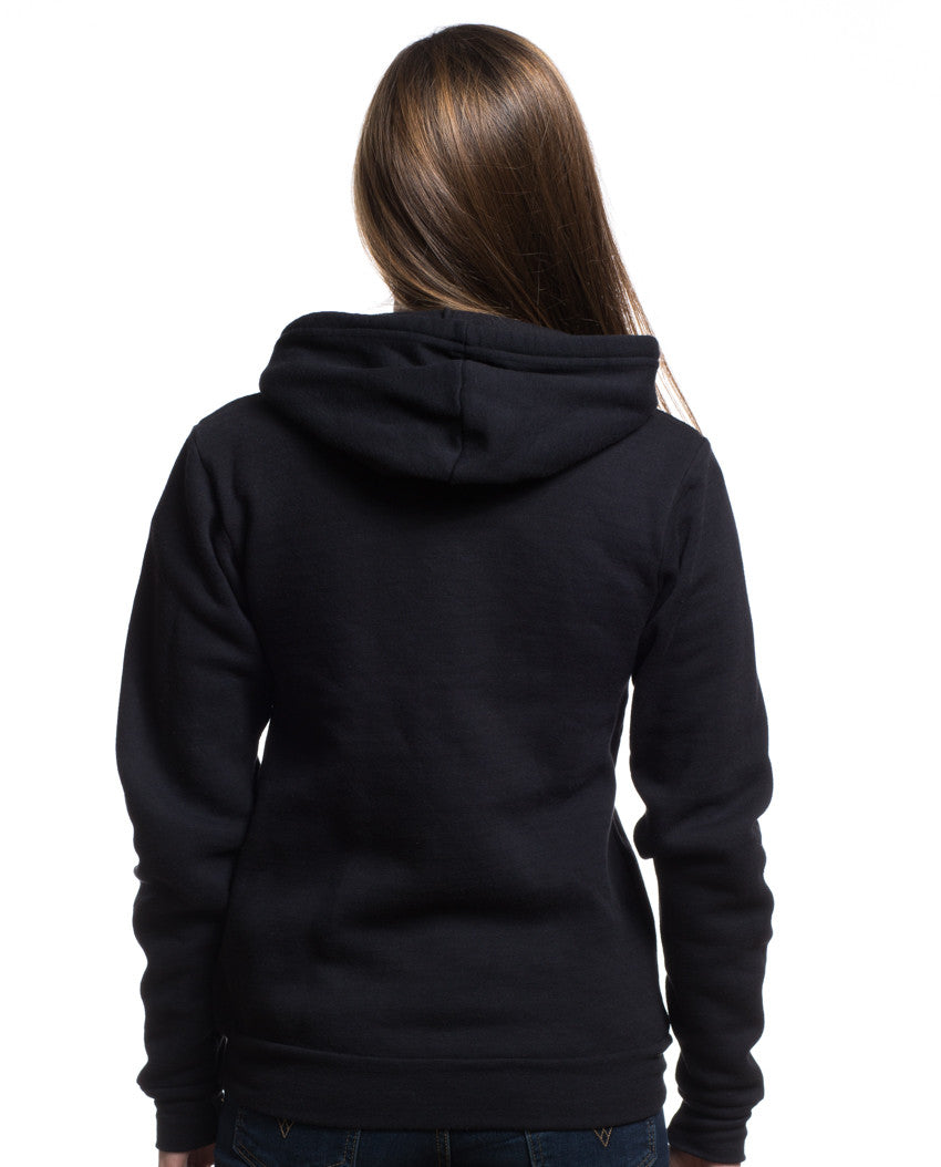 Bravery Badge Strength and Courage Women's Full Zip Hoodie