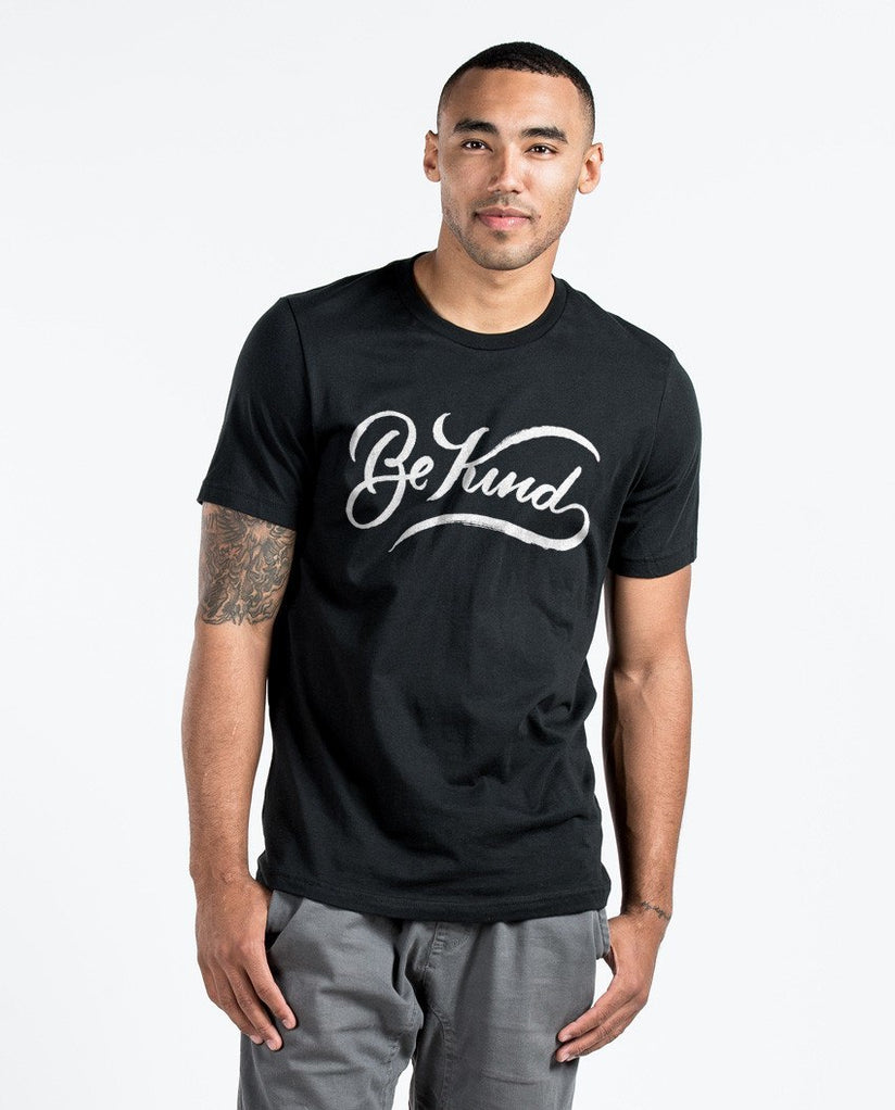 T-shirt - Be Kind Premium Fitted Tee