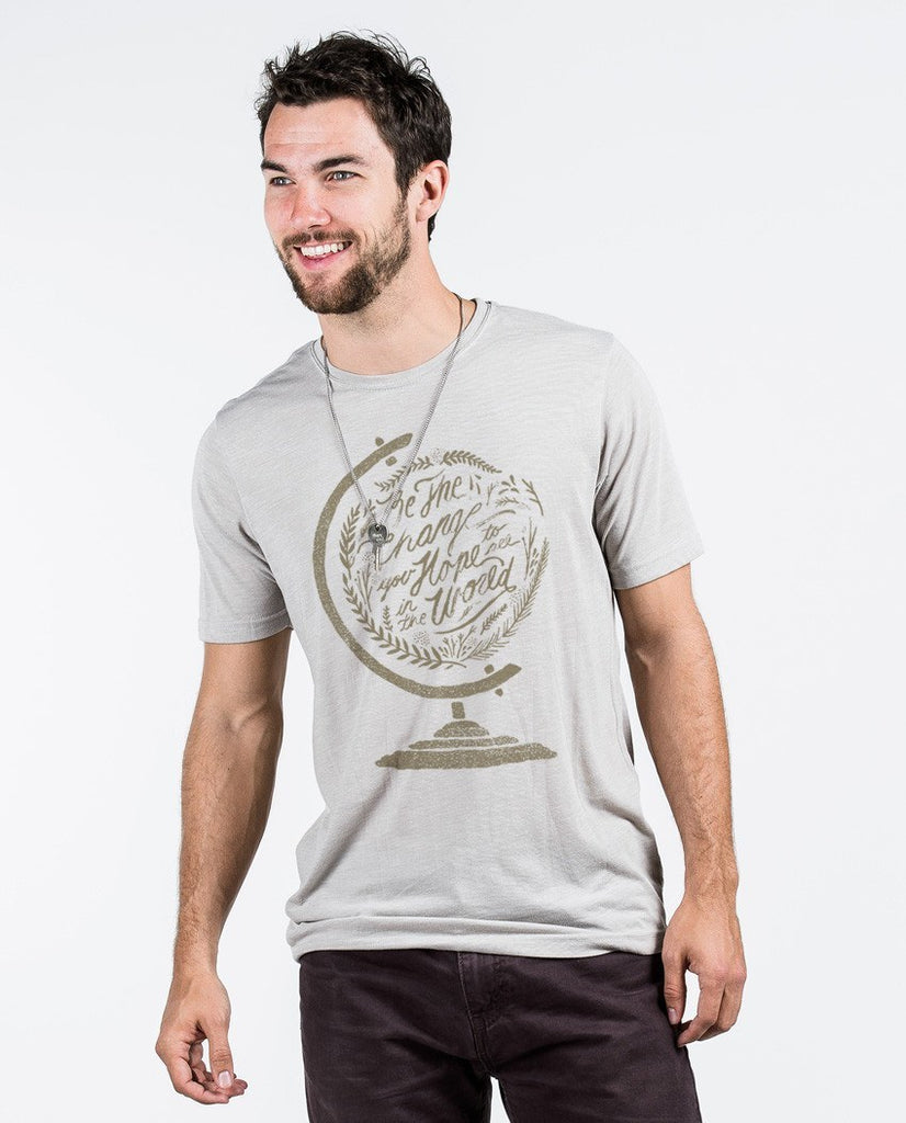 T-shirt - Be The Change Premium Tee