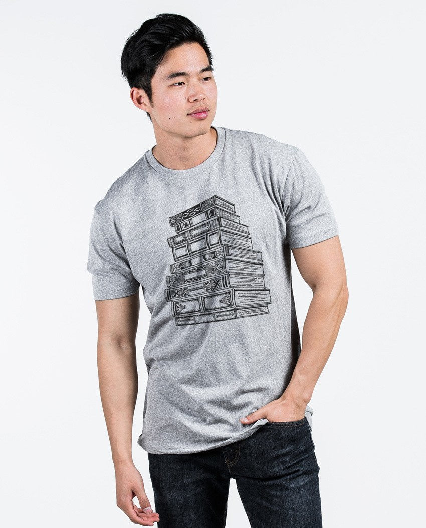 T-shirt - Books Premium Fitted Tee