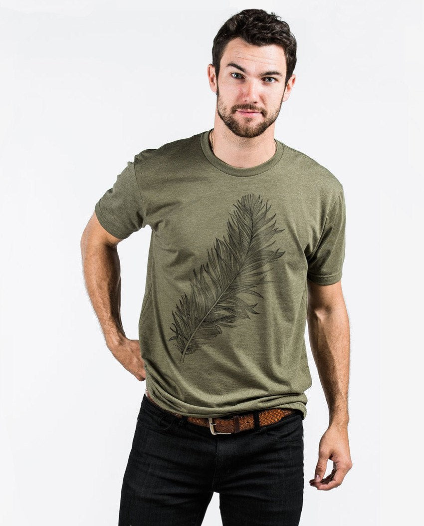 T-shirt - Feather Premium Fitted Tee