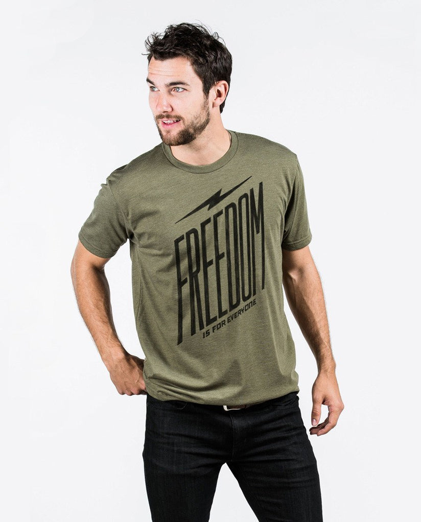 T-shirt - Freedom Is For Everyone Premium Fitted Tee