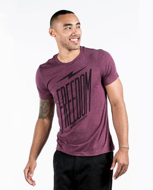 T-shirt - Freedom Is For Everyone Unisex Triblend Short Sleeve Tee