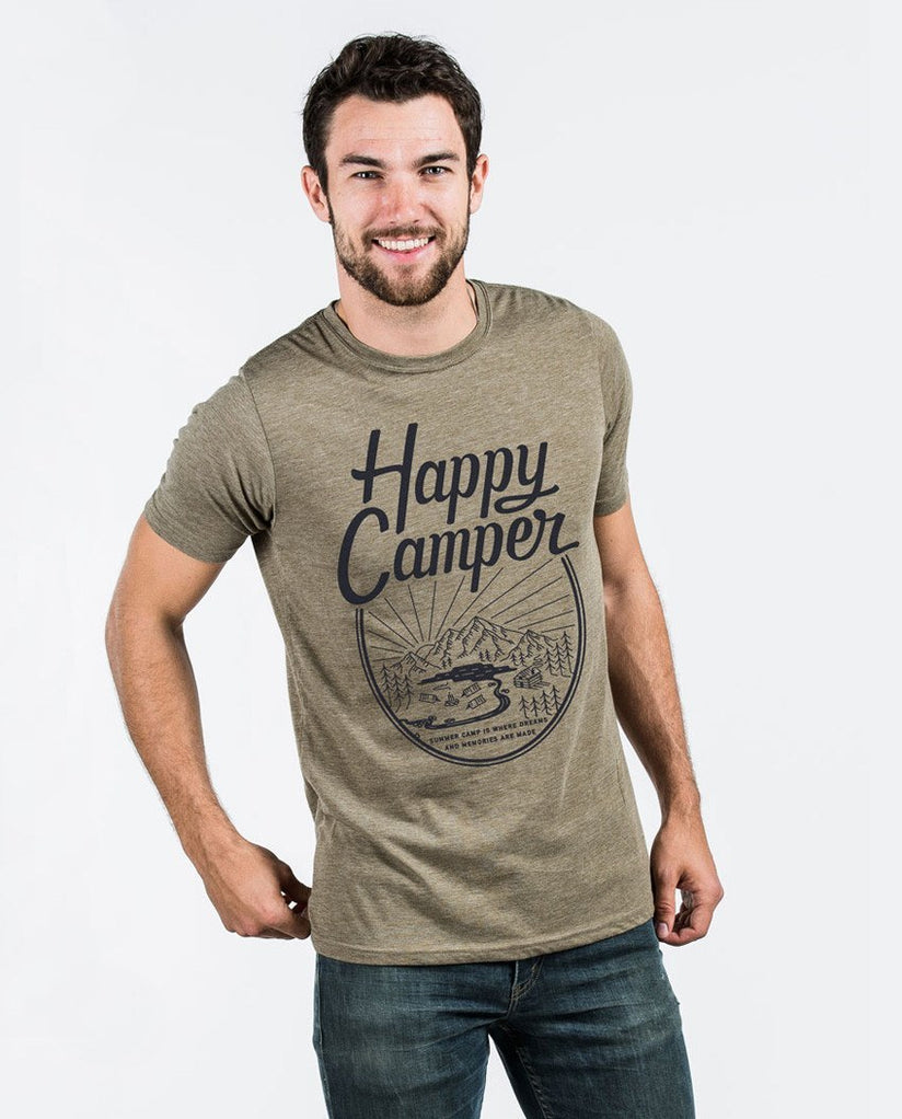 T-shirt - Happy Camper Premium Fitted Tee