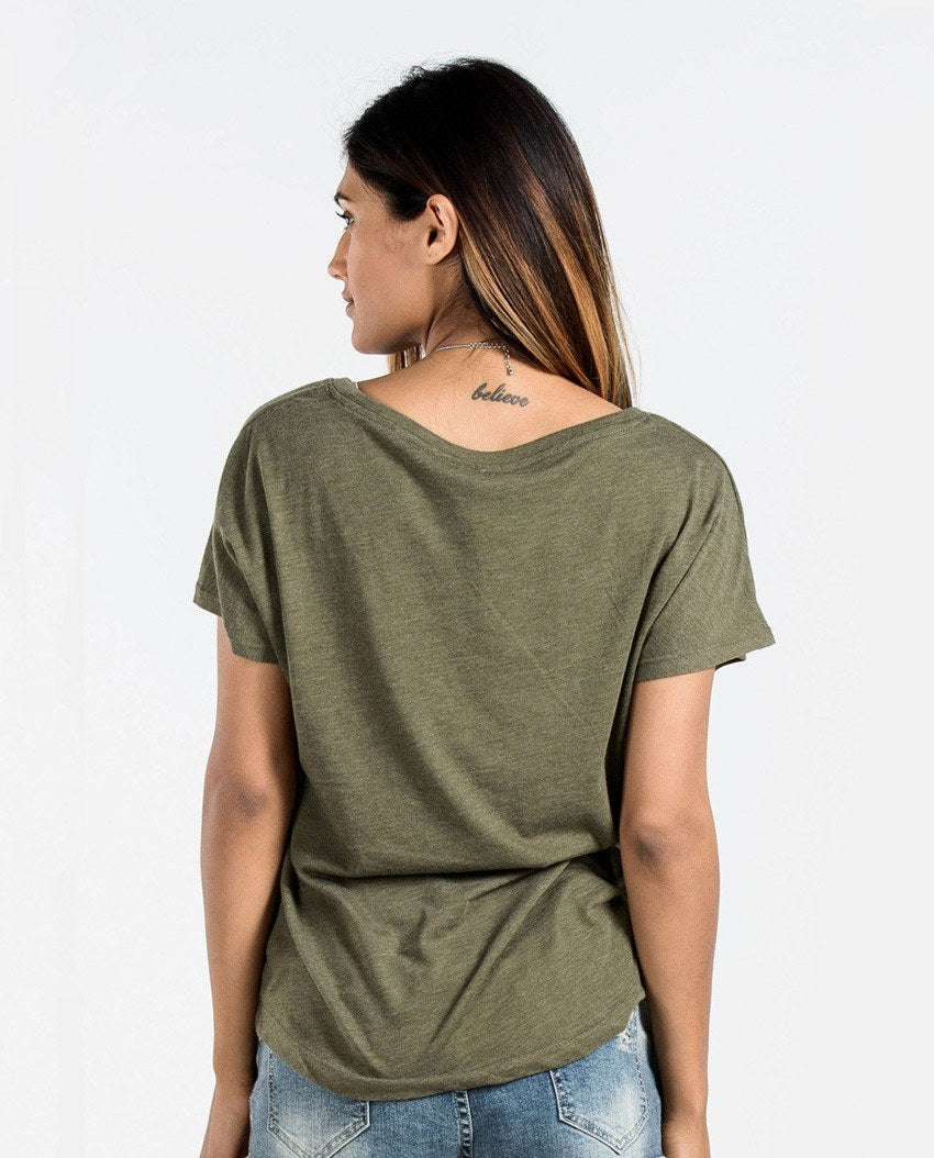 T-shirt - Home Of The Brave Flowy Dolman
