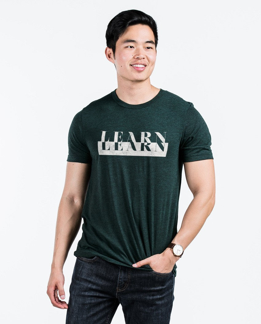 T-shirt - Learn Unisex Triblend Short Sleeve Tee