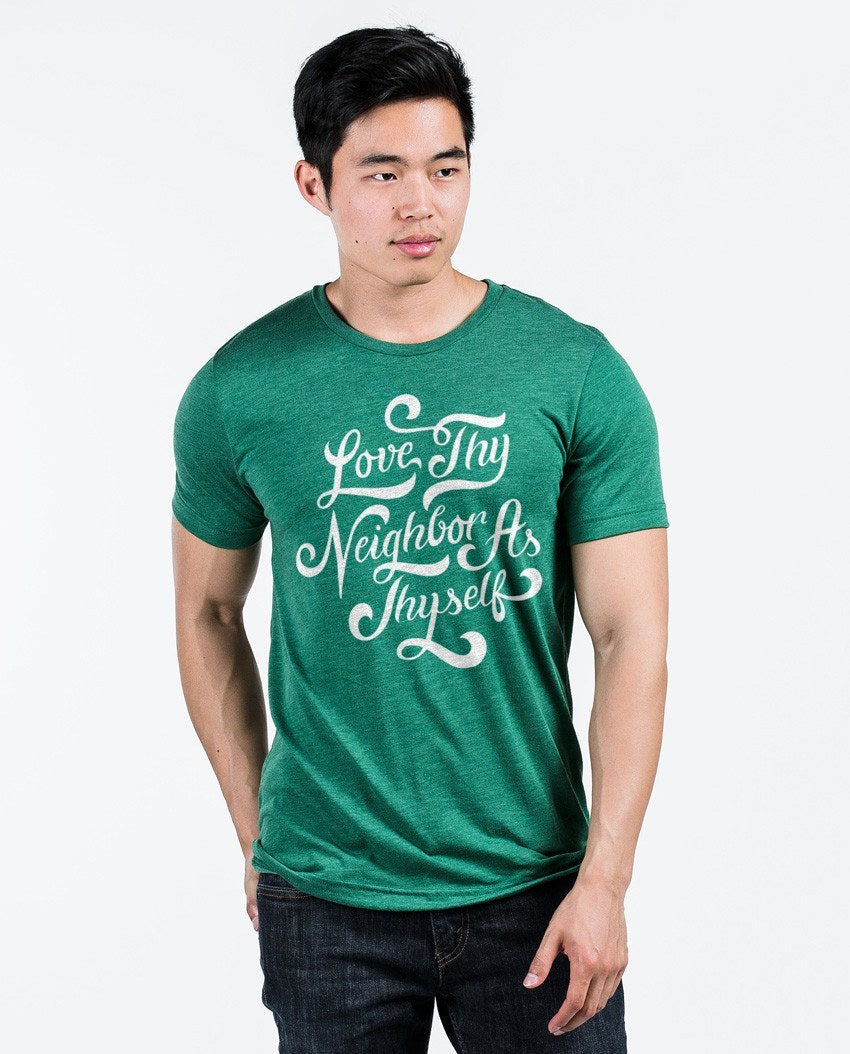 T-shirt - Love Thy Neighbor Unisex Triblend Short Sleeve Tee