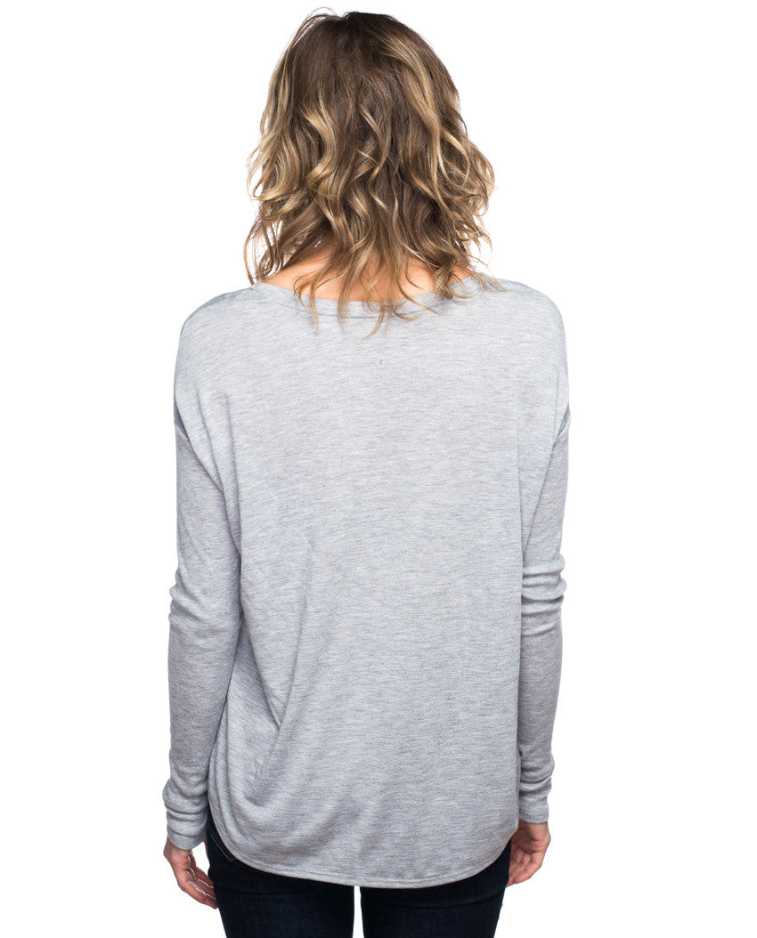 Tiger Flowy Long Sleeve Tee