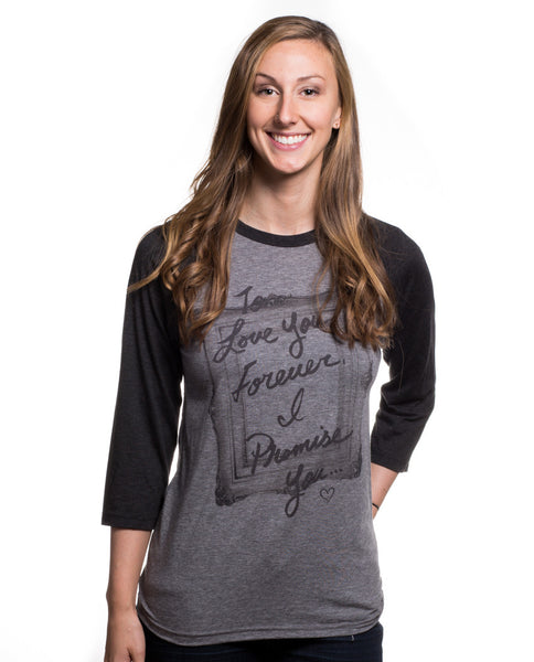 To Love You Forever Womens Baseball Tee