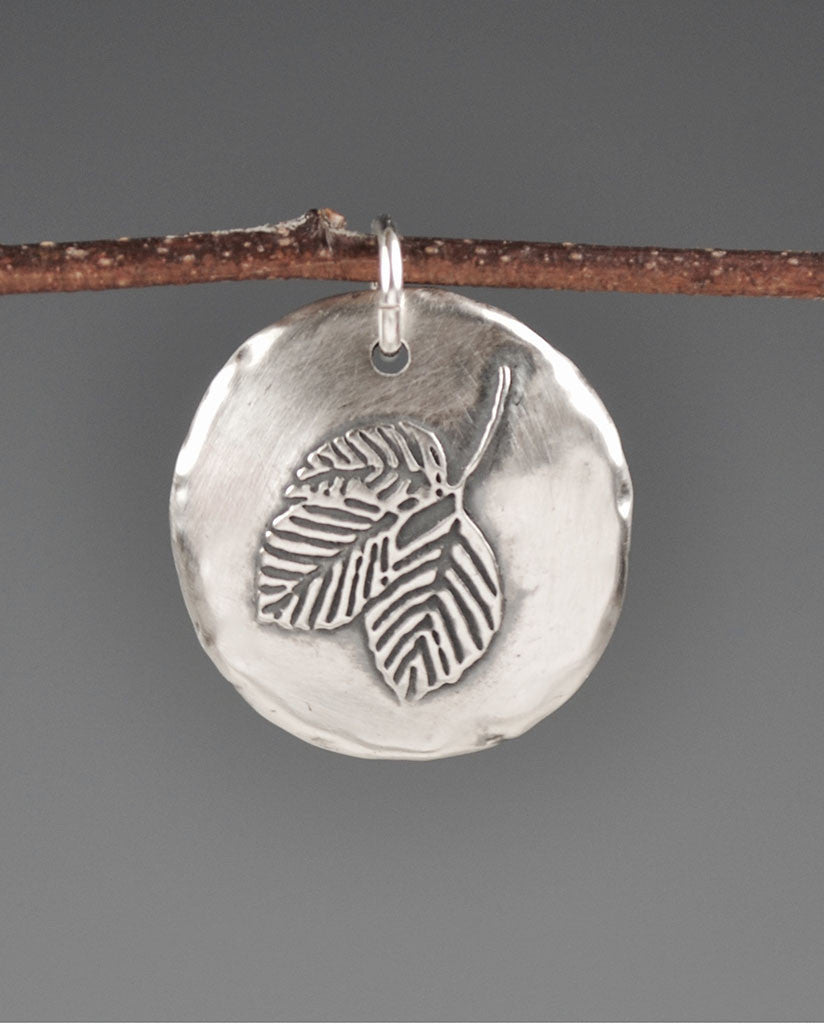 Beech Leaves Aquilla Sterling Silver Totem