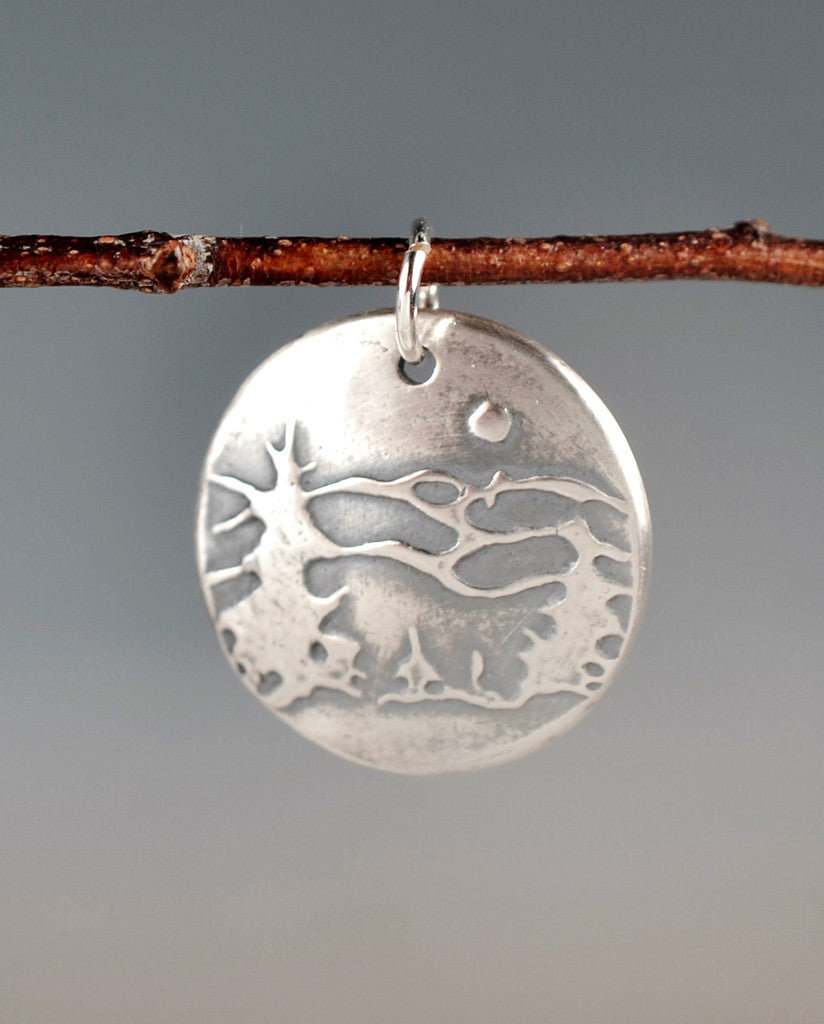 Aquilla Great Smoky Mountains Sterling Silver Totem