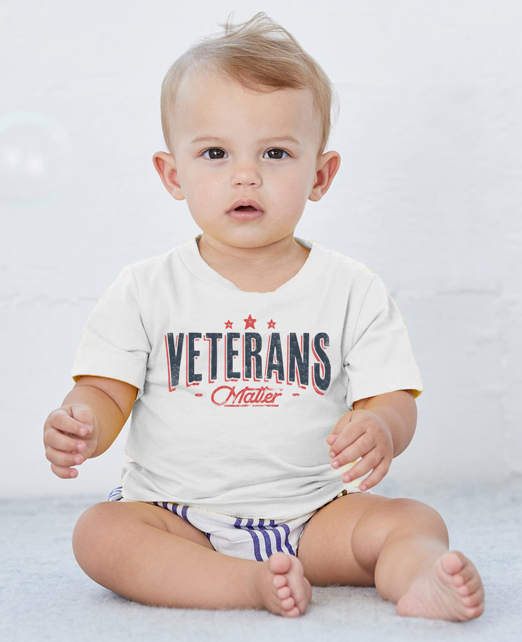 Veterans Matter Short Sleeve Crew Neck