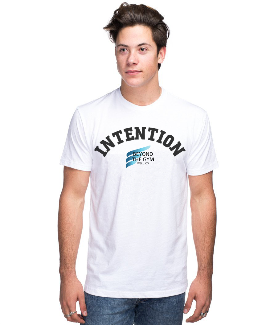 Beyond The Gym Unisex Triblend Short Sleeve Tee - INTENTION
