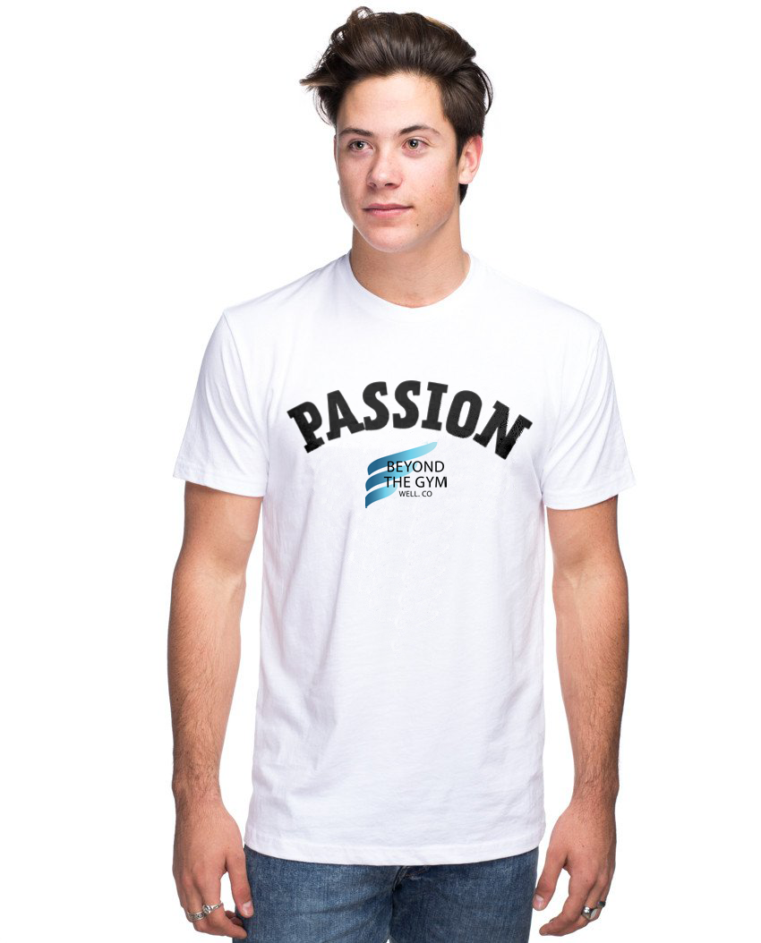 Beyond The Gym Unisex Triblend Short Sleeve Tee - PASSION