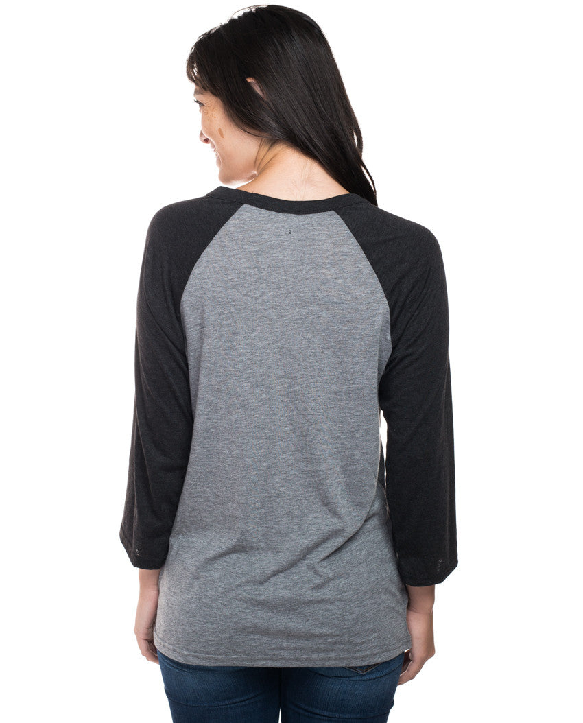 Wish Away Womens Baseball Tee