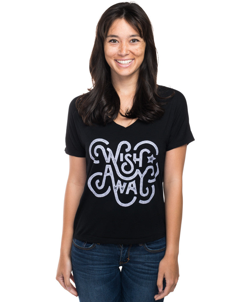 Wish Away Flowy V Neck