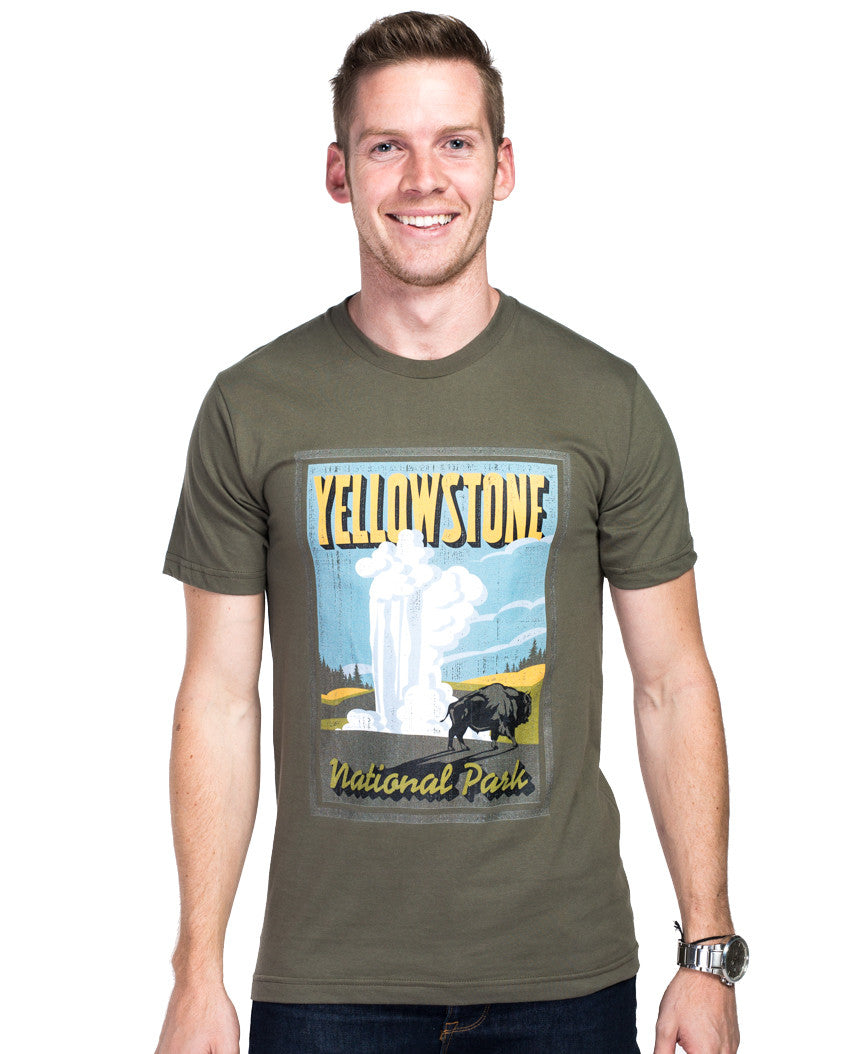Yellowstone Fitted Tee