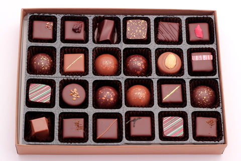 Mixed chocolate selection box