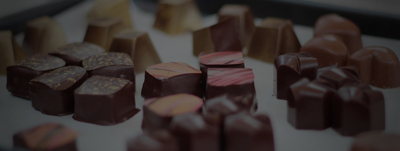 Luxury chocolates, handmade in Winchester