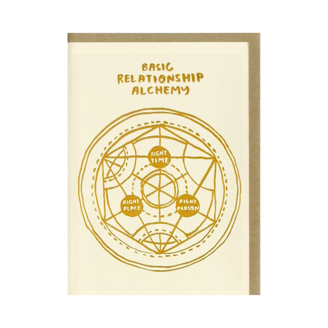 Basic Relationship Alchemy