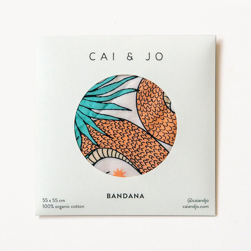 Cai & Jo | The Serpent Bandana