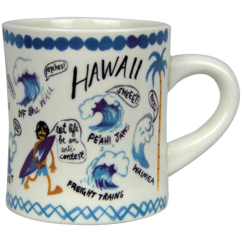 Aloha to Zen Hawaii Ceramic Mug