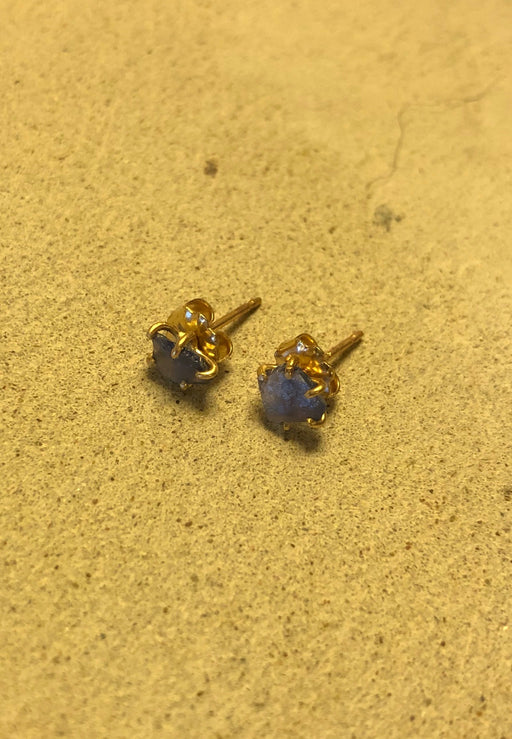 Variance Objects | Sapphire Studs