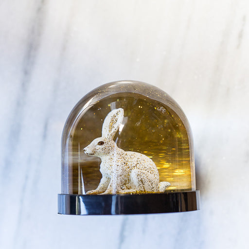 &Klevering Wonderball Rabbit Gold