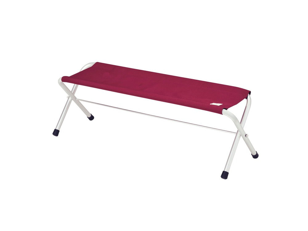 Snow Peak Folding Bench in Red