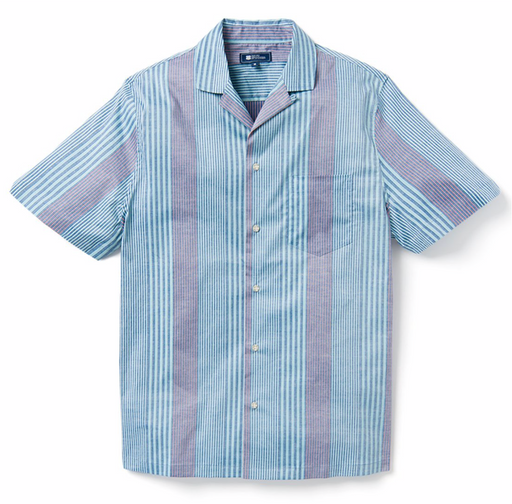 Reyn Spooner | Pacific Paradise Stripe/ Stretch Cotton Shirt