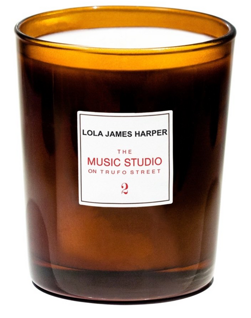 Lola James Harper Music Studio on Trufo Street scented candle