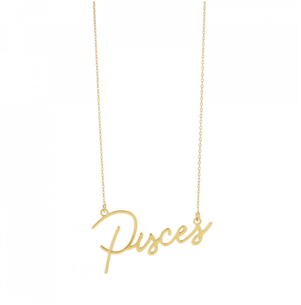 Une A Une | Zodiac Necklace