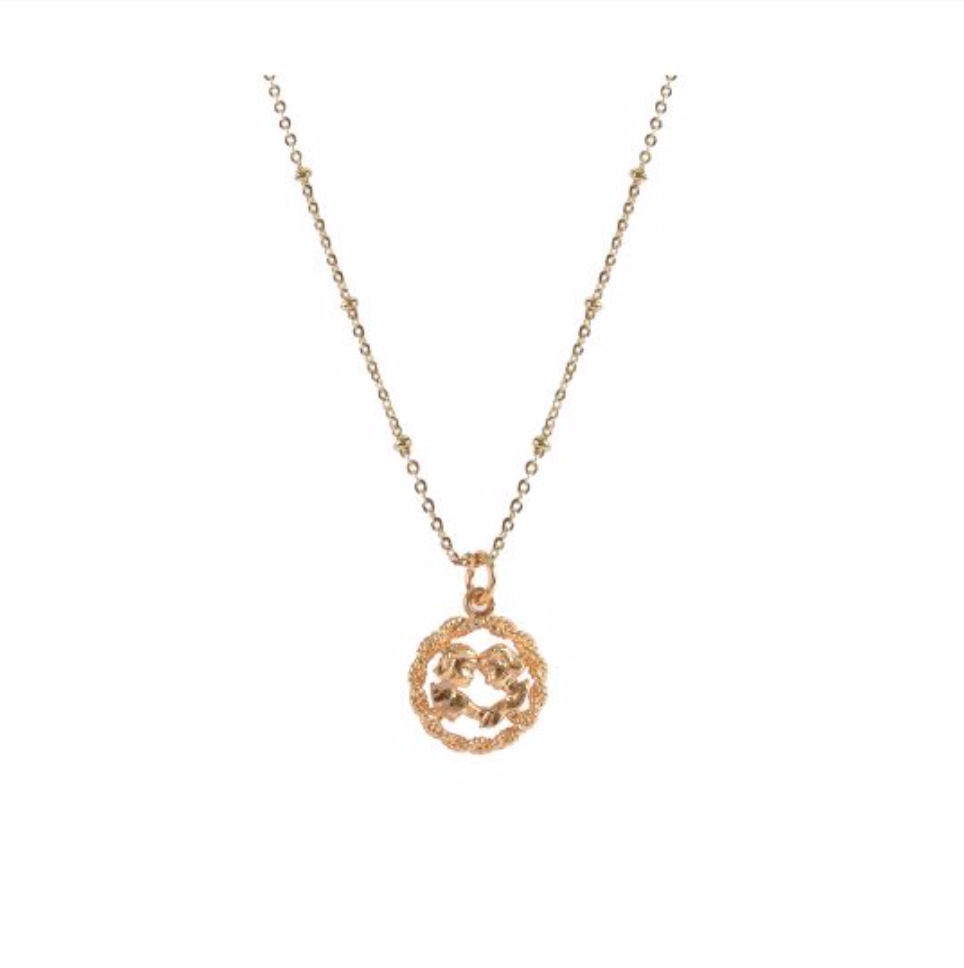 Mirabelle Jewellery | Zodiac Medal British Made