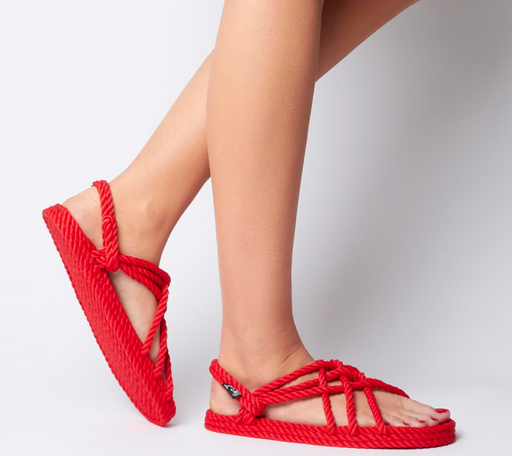 Nomadic State of Mind | JC Sandal | Red