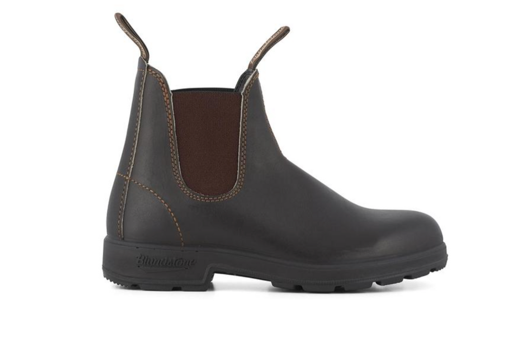 #500 STOUT BROWN Unisex Leather Boots | Blundstone UK